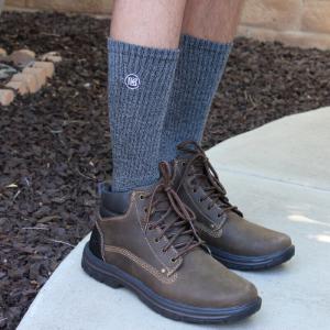 Heather Gray Premium Bamboo Socks