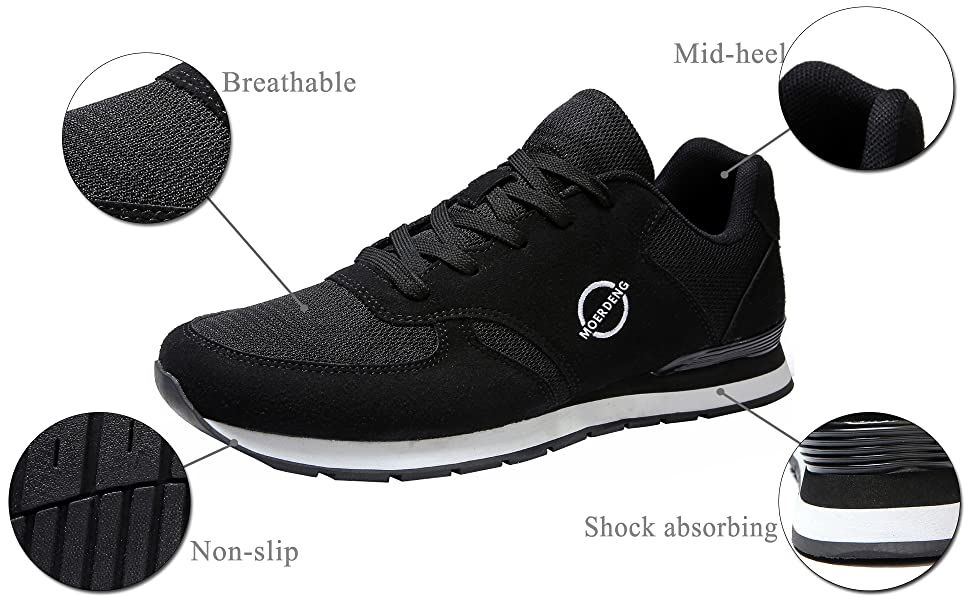 mens walking shoes running shoes sneaker