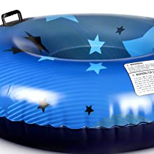 inflatable snow tube