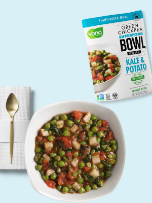 Kale Potato Plant-Based Meals
