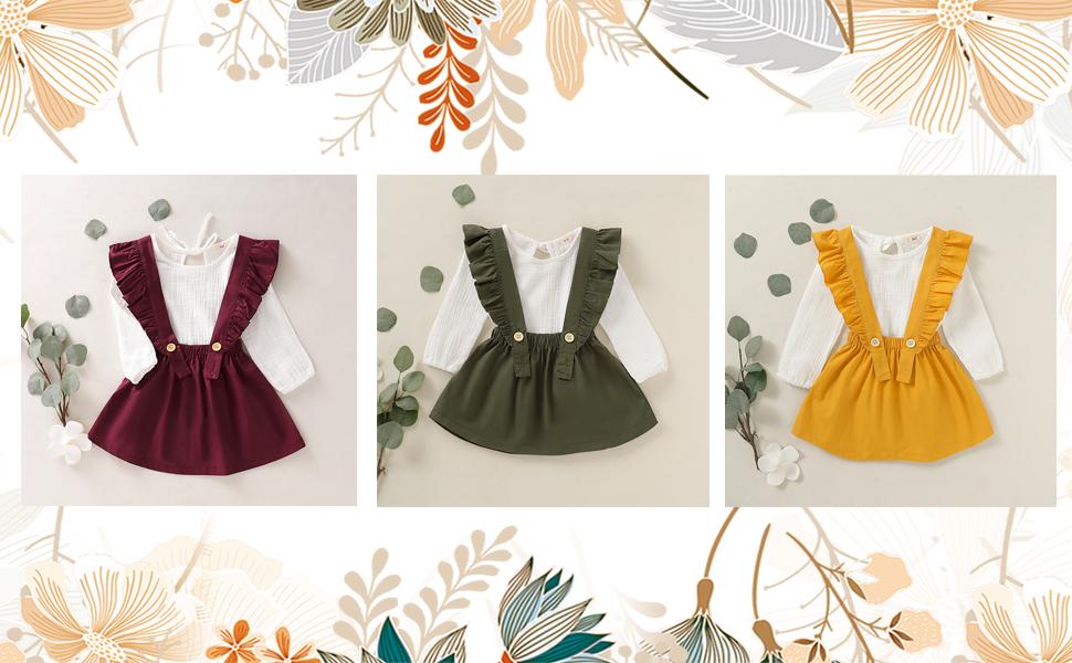 toddler  girl skirt set