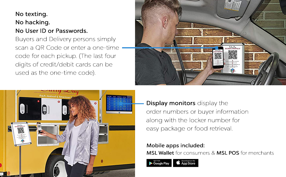 MySingleLink Smart Lockers for Merchants safe delivery