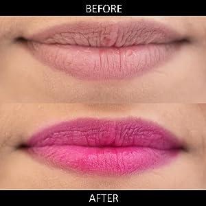 pink lip tint, organic pink tint