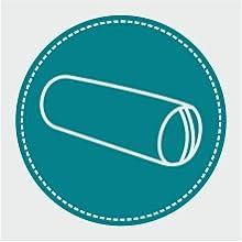 European, Yoga Bolster, Organic, Meditation, Buckwheat, Pillow, Round, Cotton, Accessories