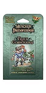 Munchkin Pathfinder, Goblins, Munchkin, Pathfinder, Steve Jackson Games, Role playing games, RPG