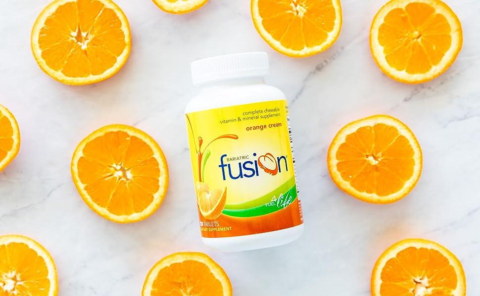 Bariatric Fusion Orange Complete Chewable Bariatric Multivitamin