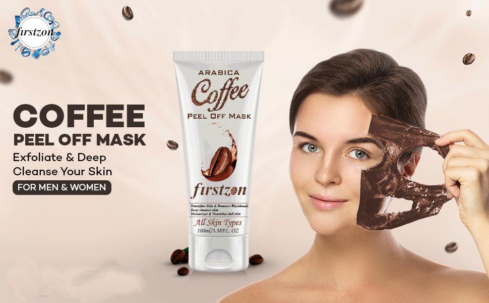 COFFEE PEEL OF MASK