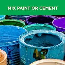 paint mixer, cement, mixer