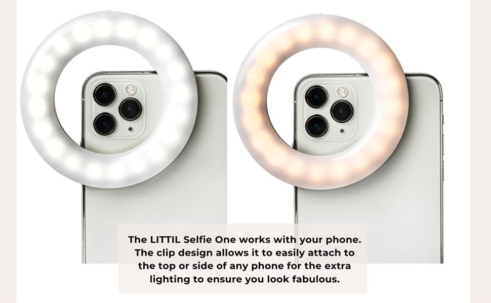 littil selfie mini ring light