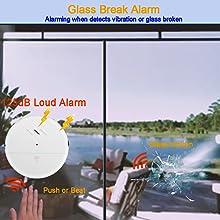 Glass Break Sensor Alarm