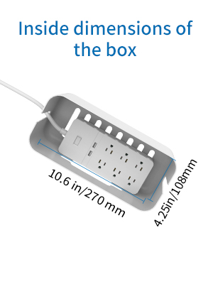 cord management box