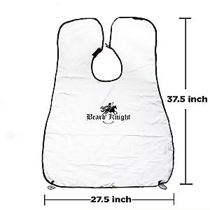 white beard apron