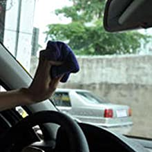 wipe the car windshield