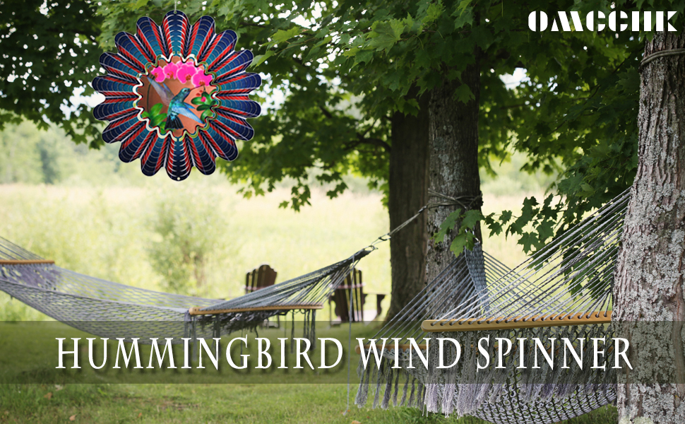The hummingbird wind sculptures amp; spinners are great decorations for your home or garden