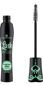 essence cosmetics lash princess mascara volumizing cruelty free vegan makeup false lash effect