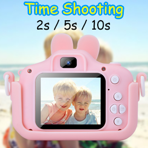 Kids camera with case
