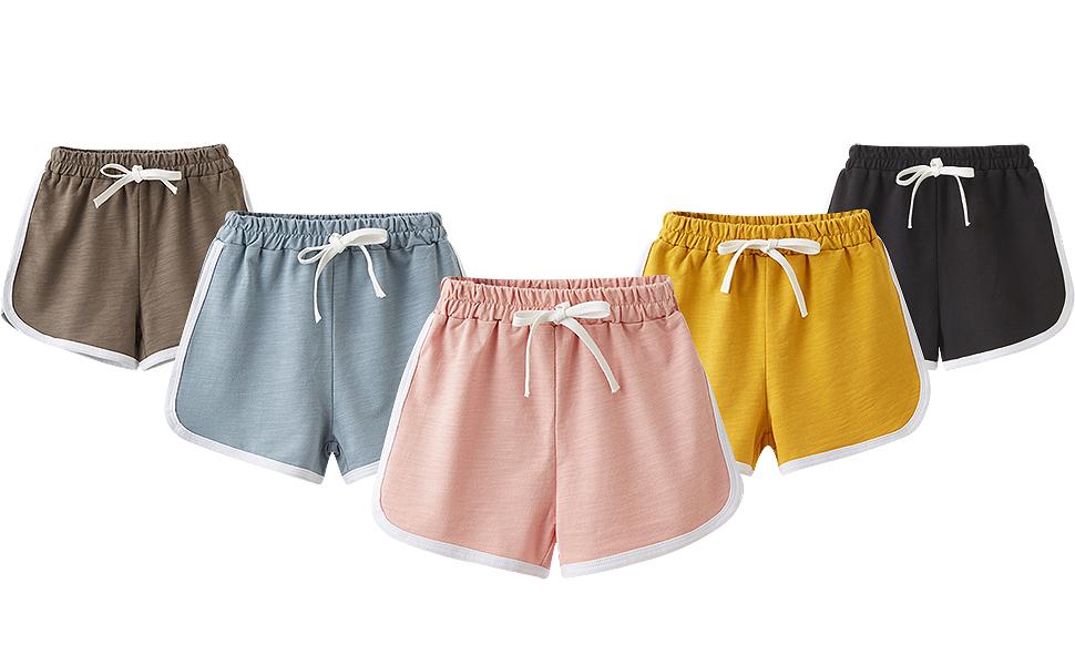 Shorts deporte en distintos colores ofrecer siempre un toque de alegría.