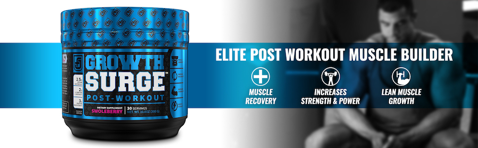 Growth Surge Swoleberry - Elite Post-Workout Muscle Builder