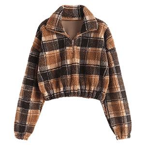 crop sweatshirt for women