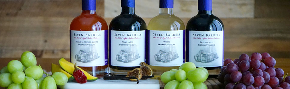 Seven Barrel Balsamic Vinegars