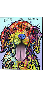 Dog is Love by Dean Russo