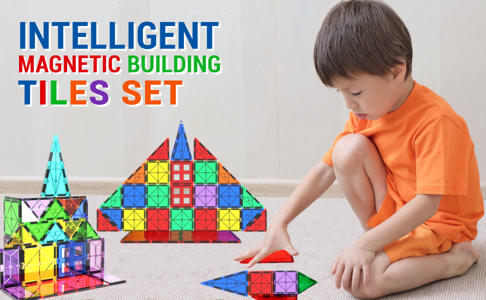 Magnetic-building-blocks-set-gift-toy-47-pc-Tiles