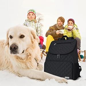 Pet travel backpack