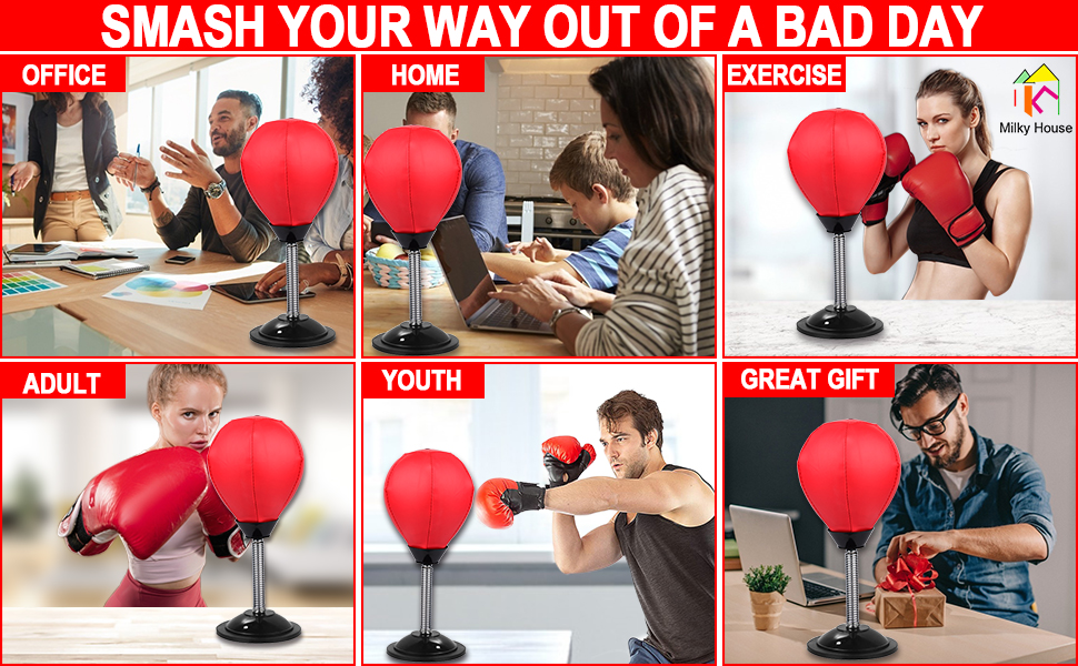 Office, Home, Adult, Youth Fitness Boxing Training, Build Muscle, Lose Weight, Release Stress