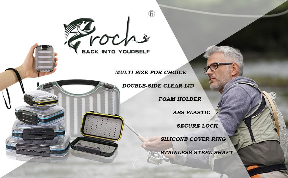 croch fly fishing lure box