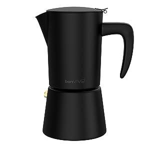 Elegant espresso maker