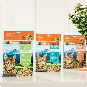 freeze dried grain free cat food
