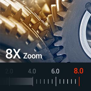 8X Zoom