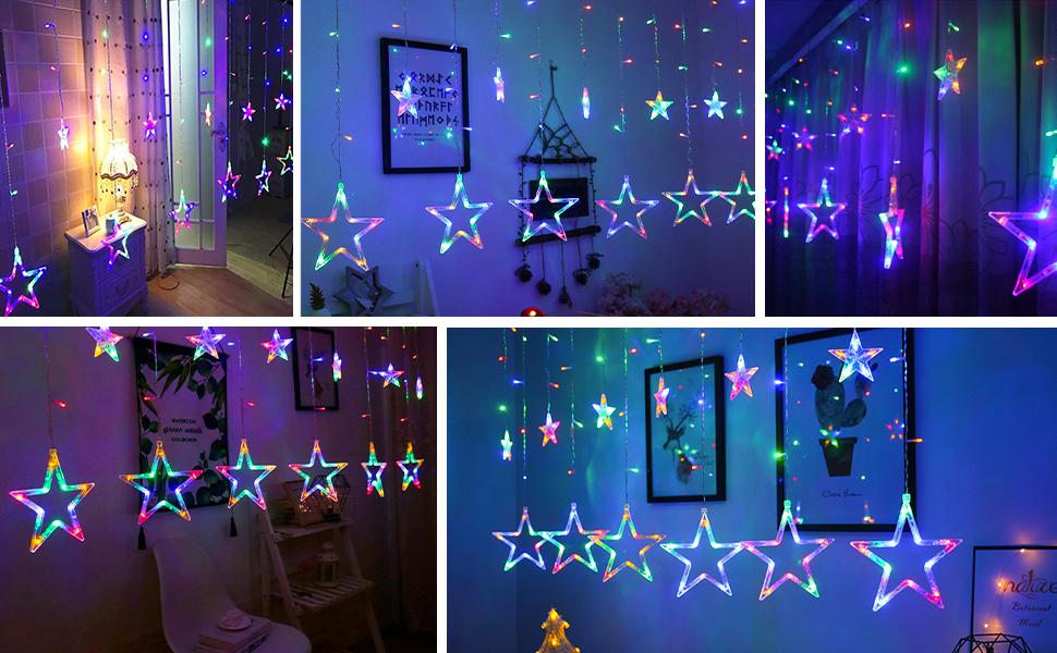 holiday festival christmas decorative string lights