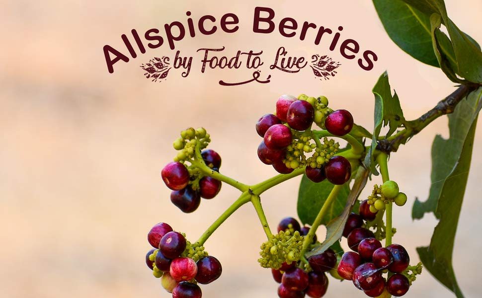 Why is Consuming Allspice Berries by Food to Live Beneficial For You