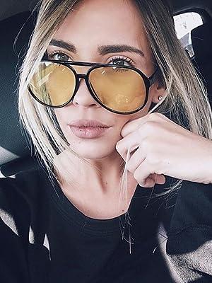 zeroUV Women's Sunglasses for Her y2k fashion oversize glasses