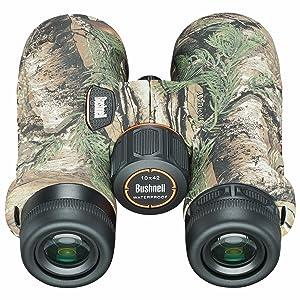 Rear view of Bushnell Trophy Binoculars