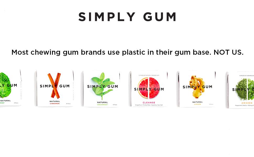 Simply Gum- Plastic-Free Chewing Gum