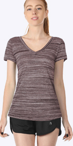 icyzone - Camiseta deportiva para mujer