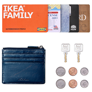 slim Zipper wallet