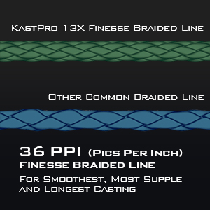 KastKing KastPro 8&13XF Braided Fishing Line