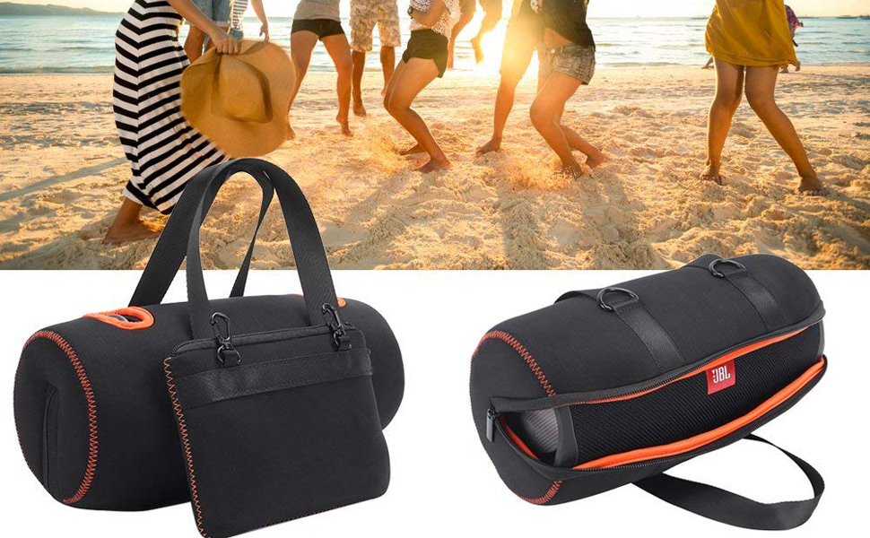Soft Storage Carrying Travel Case for JBL Xtreme 2 Portable Wireless Bluetooth Speaker Extra Space for Plug /& Cables
