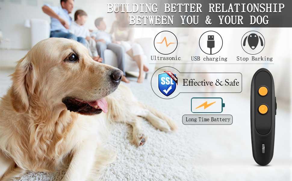 Ultrasonic Dog Bark Deterrent Devices Anti Barking Device