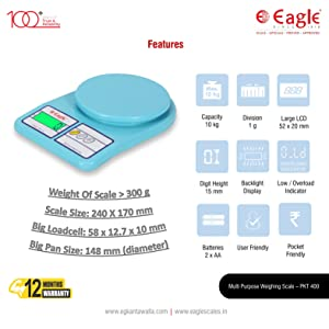 easy to use weight machine weighing scale 10kg