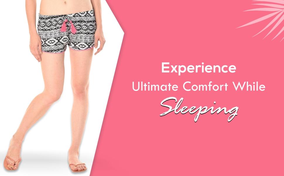 KOTTY Women's Sleepshorts