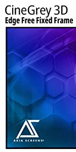 Akia screens edge free CineGrey 3D ambient light rejecting enhance contrast brightness 4K 8K