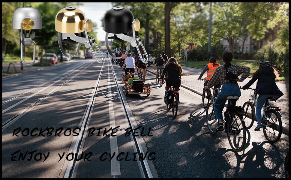 ROCK BROS Bike Bell