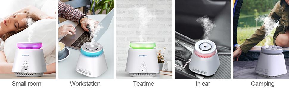 febote air purifier humidifier