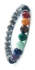 Domog, bracelet pierre naturelle, bracelet homme, bracelet femme, bracelet 7 chakras