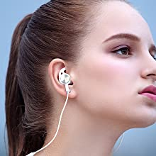 Lightning, Earphones, Headphones, Earbuds, MFi Certified, Workout, Sport, Noise Cancelling, iPhone