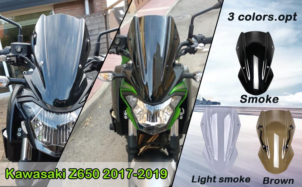 Z650 Windscreen